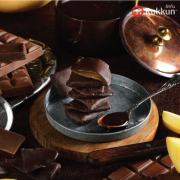 PREMIUM CHOCOLATE-COATED DRIED GOLDEN MANGO