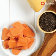 PREMIUM THAI TEA-COATED DRIED GOLDEN MANGO